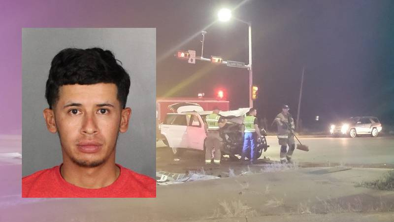 Refugio Enrique Hinojoza was arrested and charged with driving while intoxicated and accident...