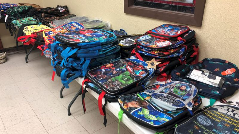 Project Apple Tree offers new school supplies for families in Bell County for a lower price.