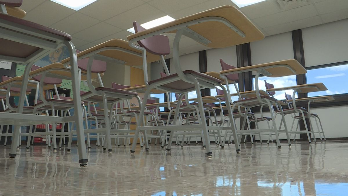Another local middle school is closing early and shifting to online instruction in order to...