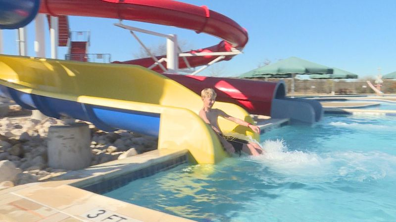 A handful of Central Texans braved Saturday morning's cold temperatures for the annual polar...