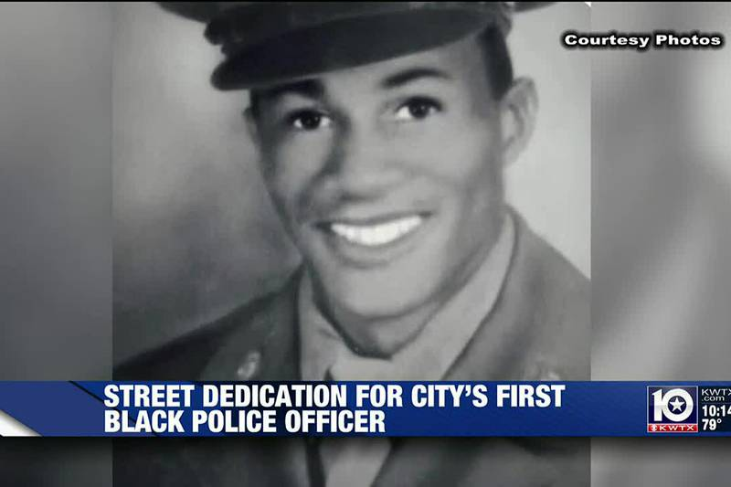 Harker Heights dedicates street name after first African American police officer