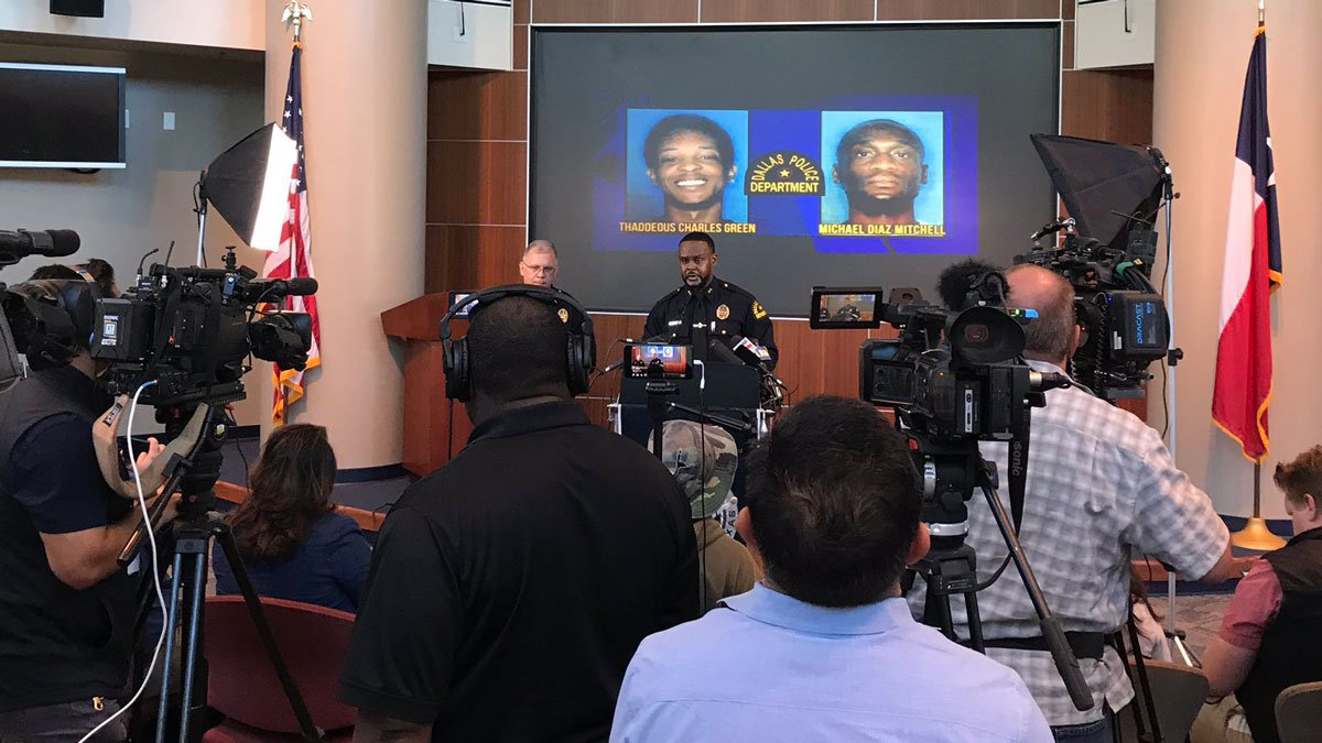 Assistant Chief Avery Moore said at a news conference Tuesday that three men from Alexandria,...