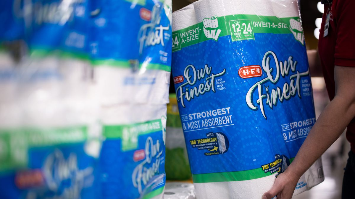 H-E-B announces new purchase limits on paper products including toilet paper (photo- H-E-B )