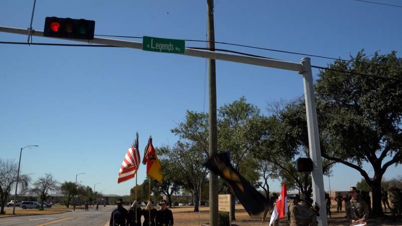 Maj. Gen. John Richardson IV and Command Sgt. Maj. Shade Munday, command team for the 1st...
