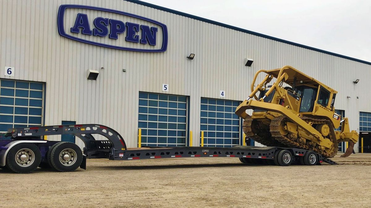 Aspen Custom Trailers, a leading manufacturer of heavy haul commercial trailers, plans to build a 58,000-square foot manufacturing, services and sales operations center in Waco.