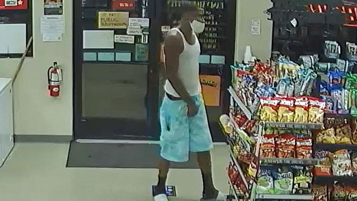 Police Wednesday released surveillance photos of a suspect in a shooting at a Killeen convenience store that left a man seriously injured. (Police Dept.  photo)