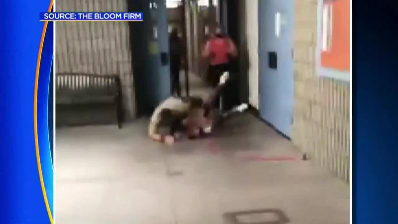 A deputy resource officer is caught on video body-slamming a teenage girl at a high school.