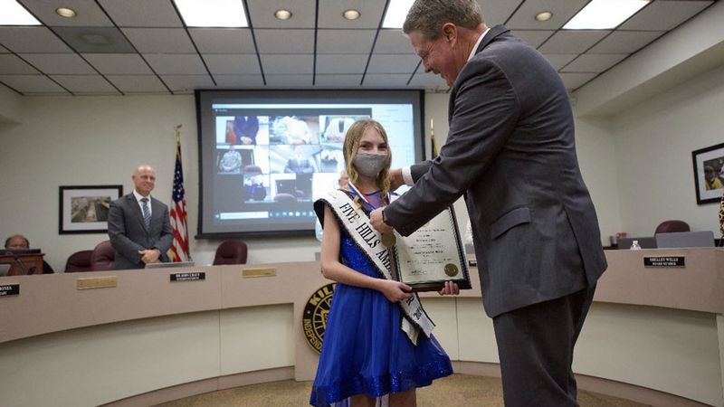 Eastern Hills Middle School student Briana Liles won a state Student Hero Award from the State...