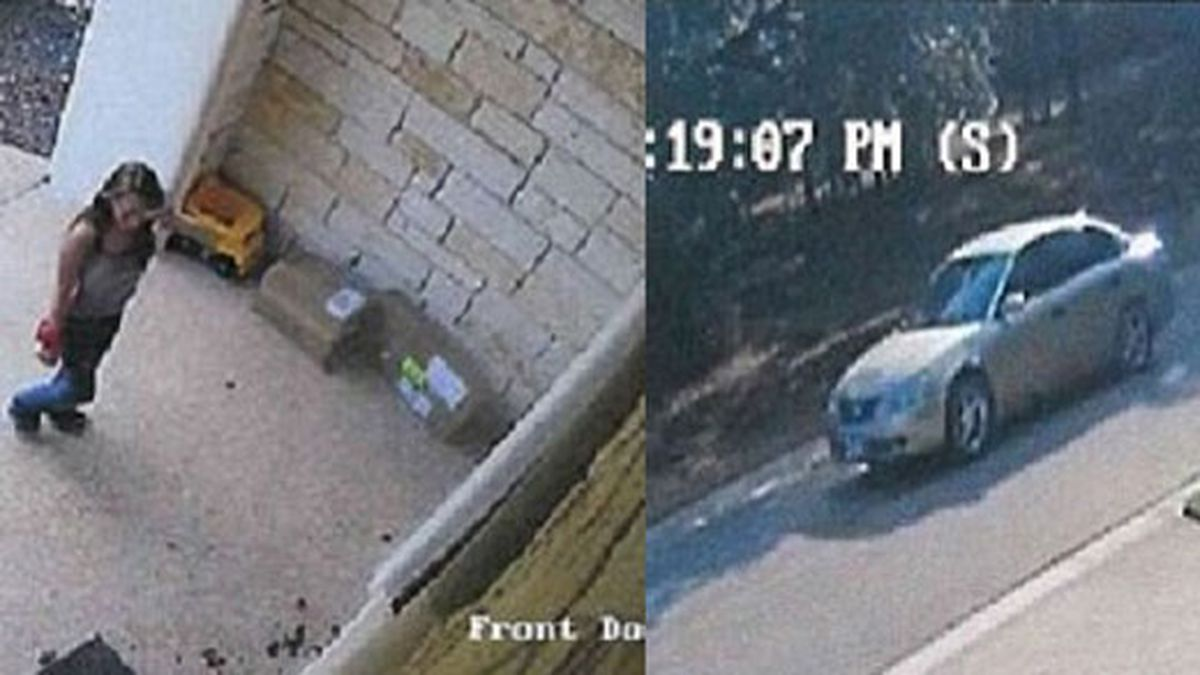 The woman took about $250 worth of packages between 4 p.m. and 6 p.m. last Friday from the home in the 100 block of Lago Verde Lane and left in a silver sedan. (Temple Police Dept. photos)