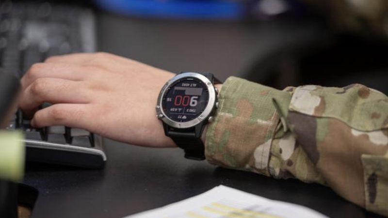 The U.S. Army is taking a look at stress using smart watches and high-tech rings.