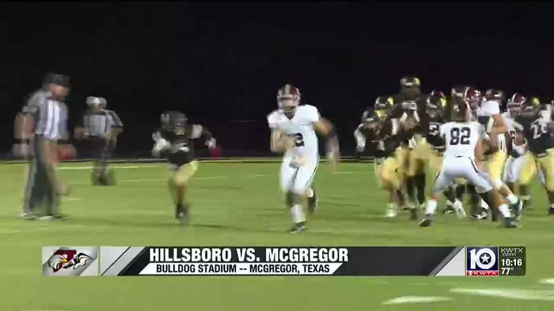 Hillsboro beats McGregor