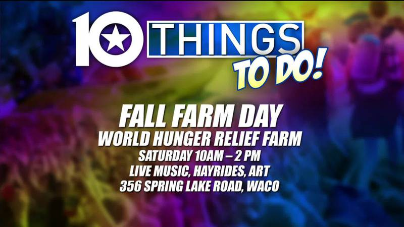 10 Things To Do In Central Texas:  October 22-24