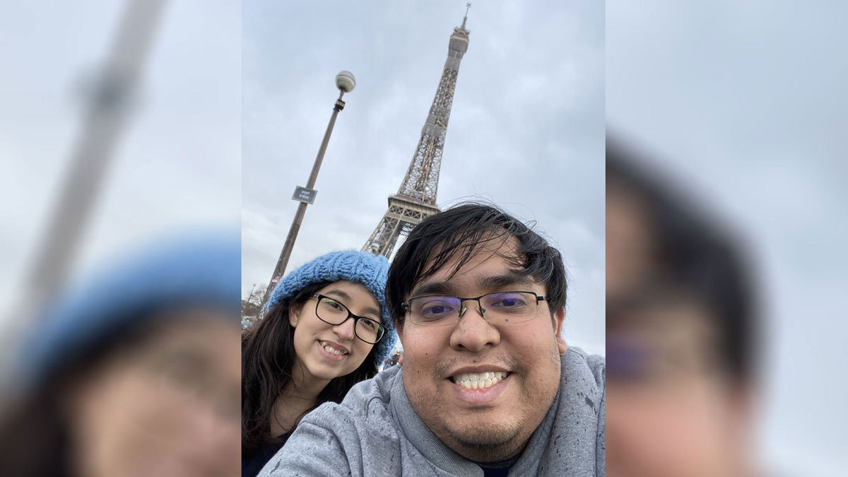 Michael Lopez took his younger sister, Gigi, 20, to Europe to celebrate her upcoming 21st...