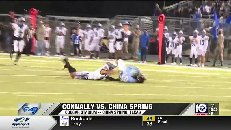 Connally vs. China Spring