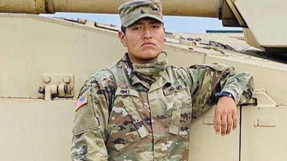 Pvt. Corlton L. Chee, 25, of Pinehill, N.M. died on Sept. 2 at a local hospital.