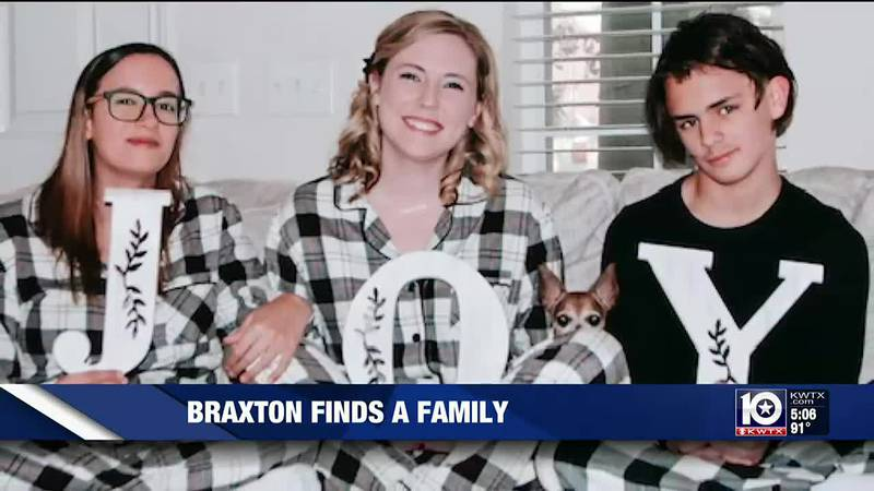 After a tough foster care journey, Braxton Calvert says he feels free after he was officially...