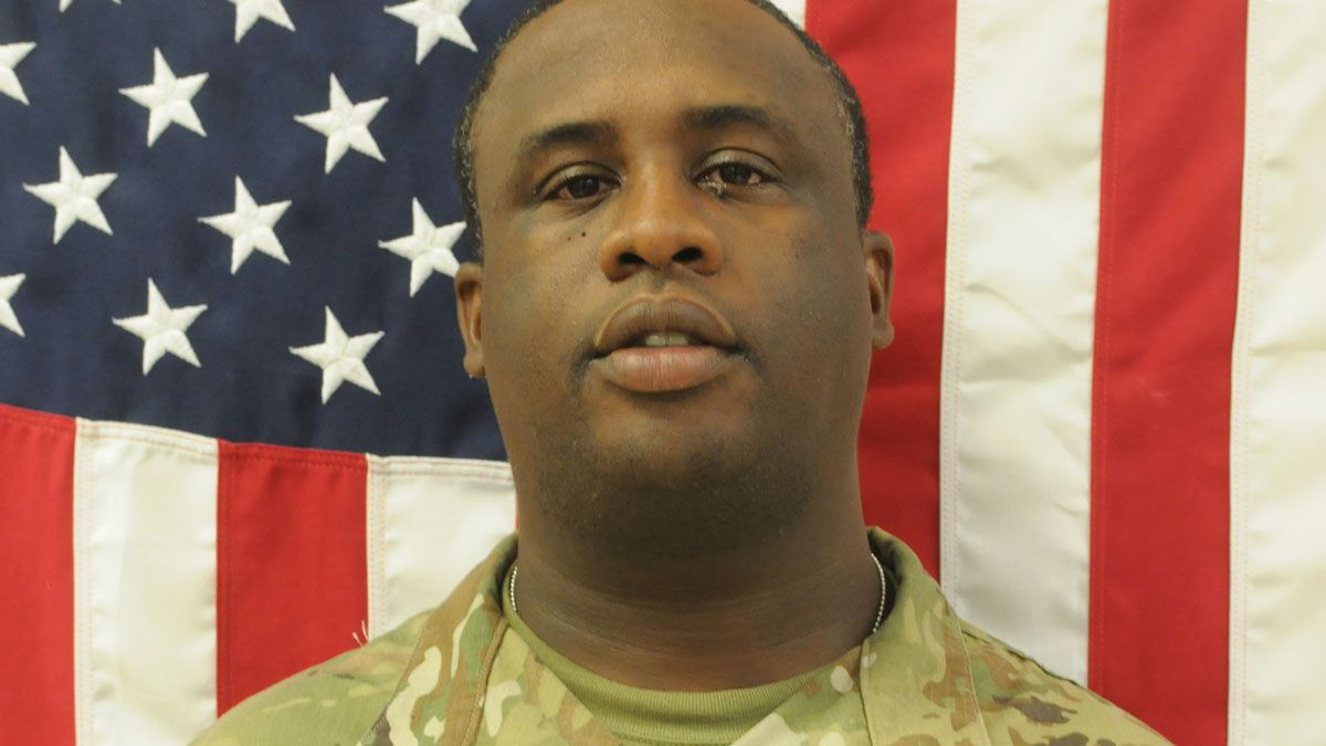Spc. Darius Cooper. (Fort Hood photo)
