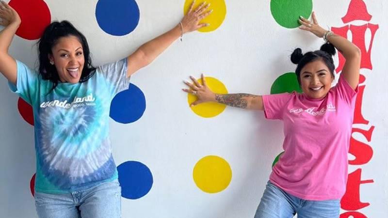 The unique studio was the idea of Alisha Quintanilla (right).