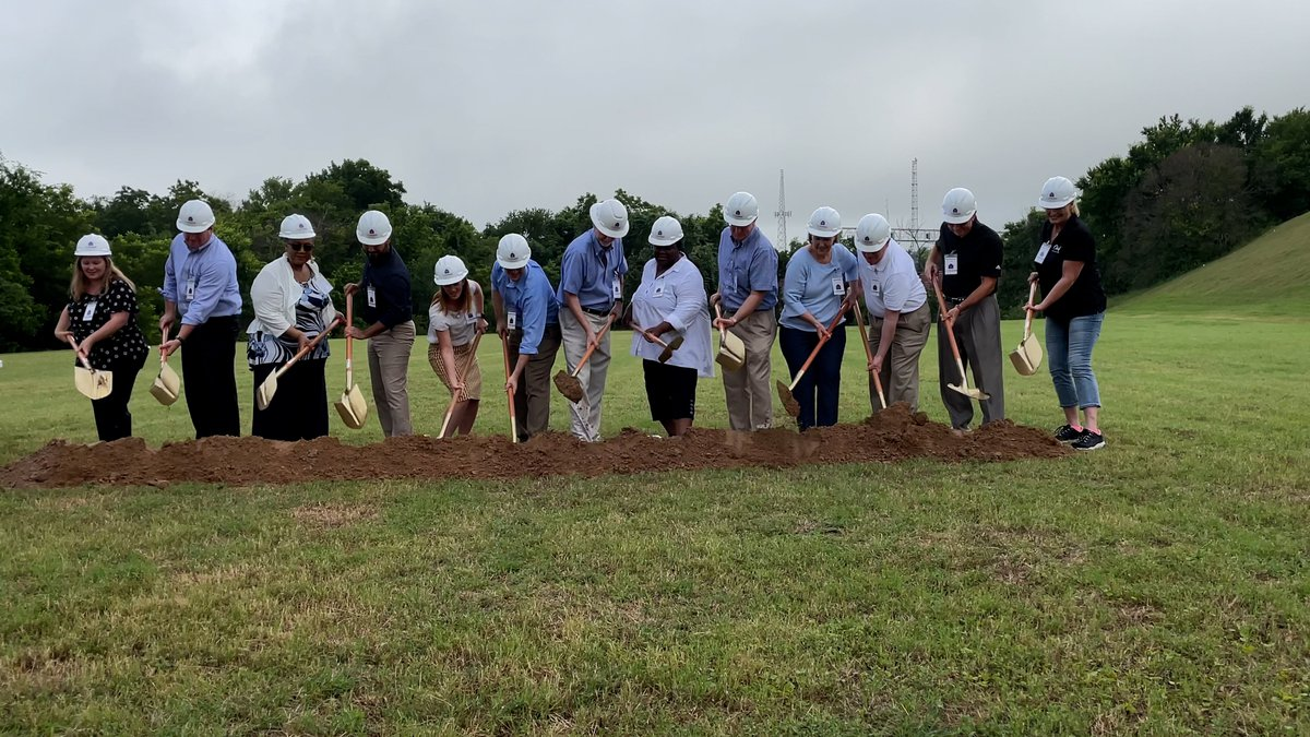 The nonprofit broke ground Tuesday on a 6,500-square-foot building.