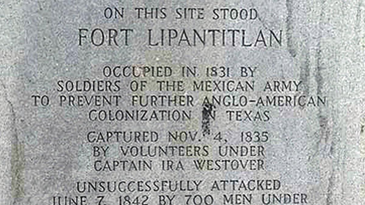 Fort Lipantitlán. (Texas Parks and Wildlife Dept. photo)