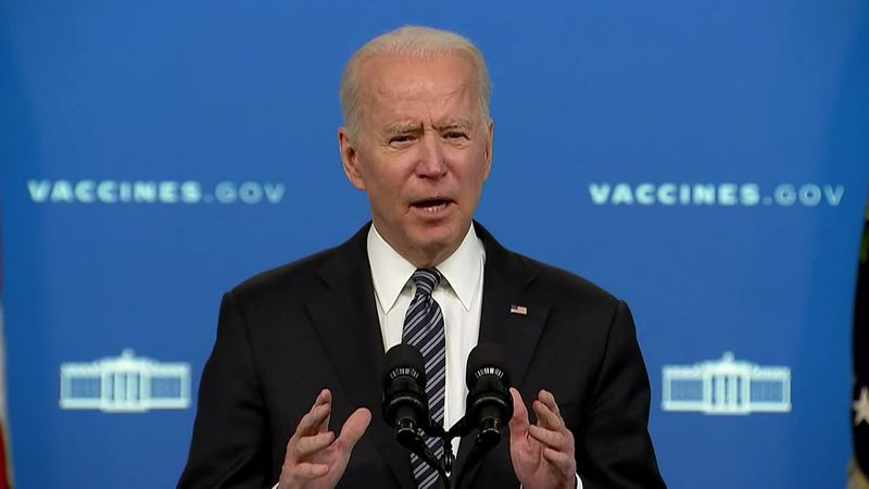 President Joe Biden said, pending final CDC approval, safe and effective vaccines will for the...