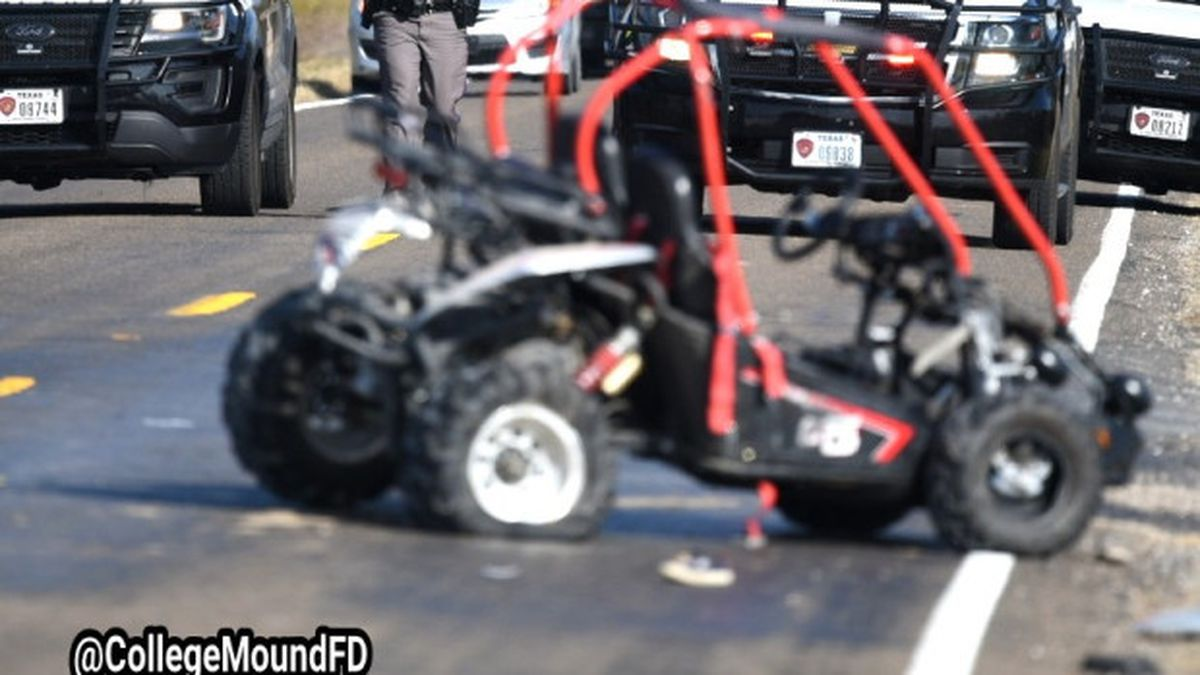 A second child has died after an SUV crashed into a go-kart six children were riding.