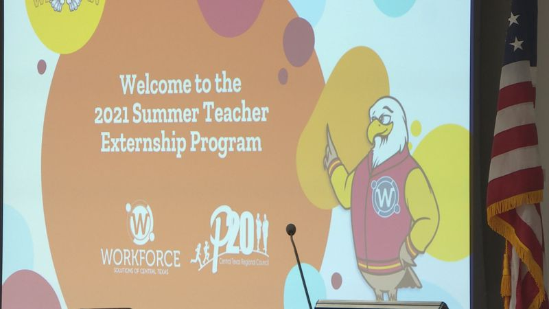 Teachers from around Central Texas will be participating in an externship program this week.
