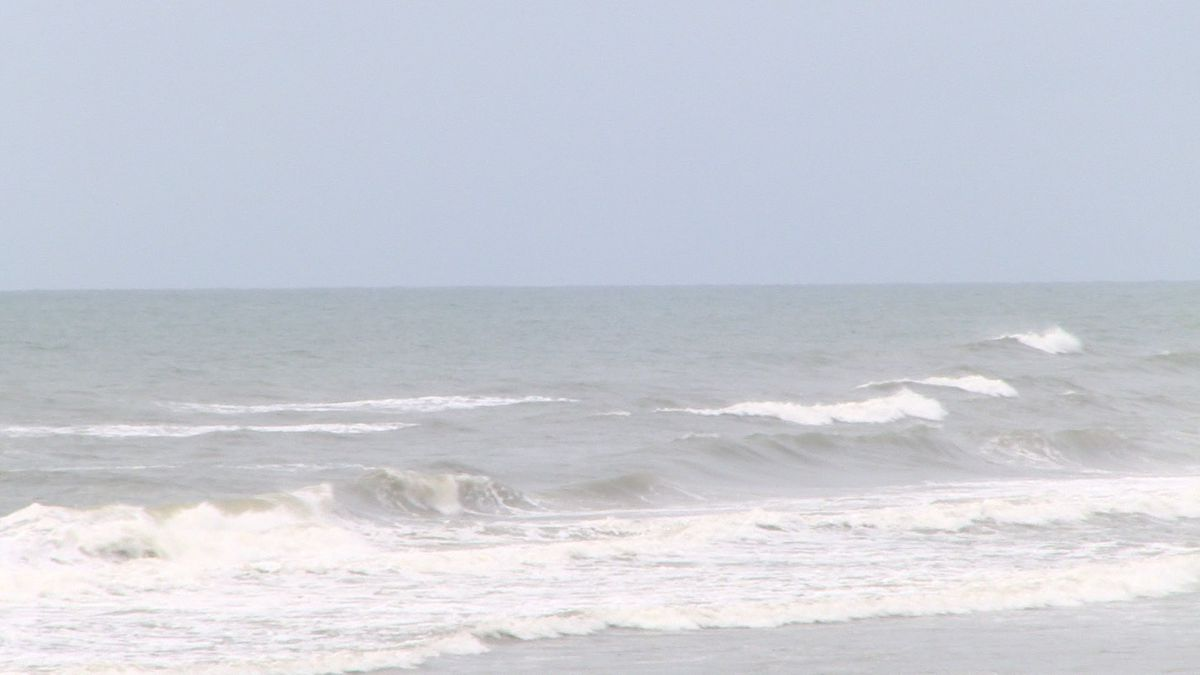 The North Carolina coast is already seeing impacts from Isaias.