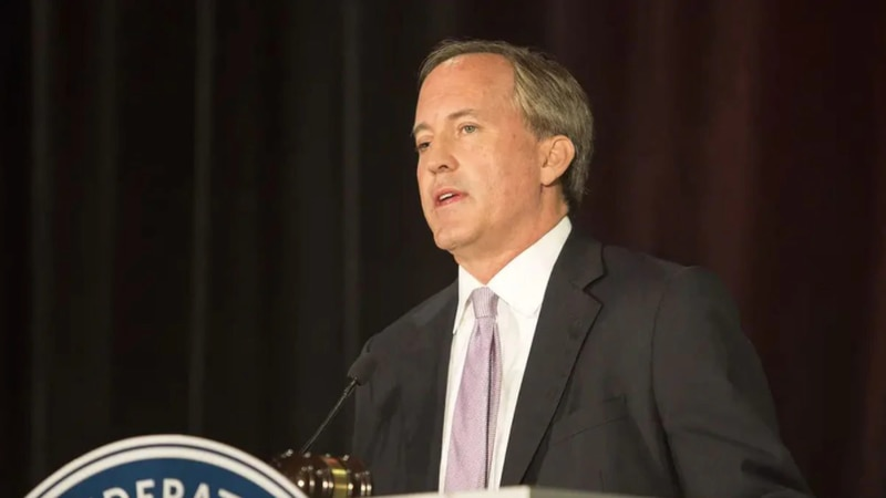 File Photo:  Texas Attorney General Ken Paxton