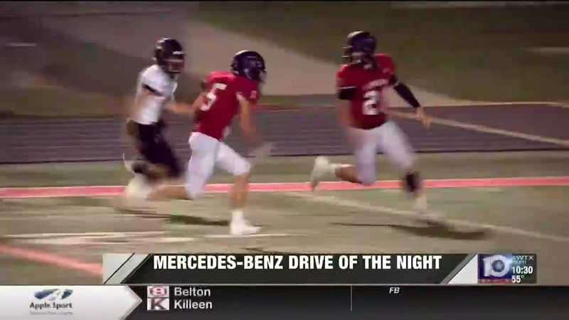Drive of the night week 8