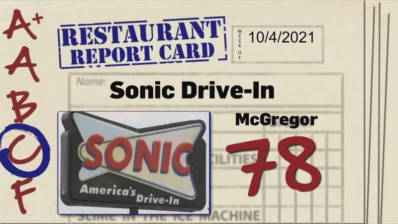 Restaurant Report Card 10.14.21