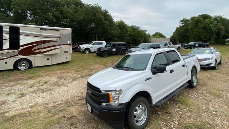 Texas Equusearch volunteers and Fort Hood investigators were searching a stretch of the Leon...