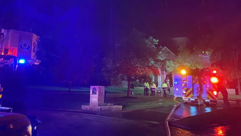 It happened around 9 p.m. on Sonoma Circle near Rock Prairie Road and Rio Grande Boulevard.