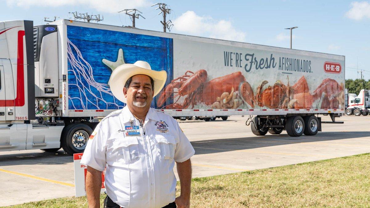H-E-B truck driver Danny Guerrero Jr. reached a milestone that few in his field rarely achieve...