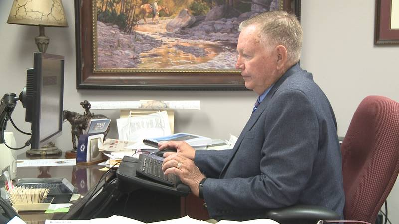 Brazos County Judge Duane Peters has posted positive for COVID-19.