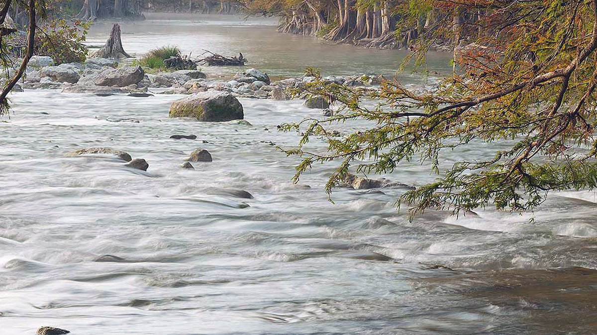 Guadalupe River. (Texas Parks & Wildlife Dept. photo/file)