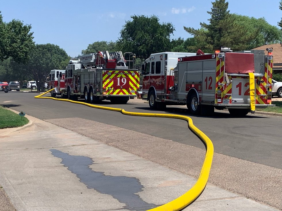 Lubbock Fire Rescue were called to a house fire in the 5500 block of 90th Street on Sunday,...