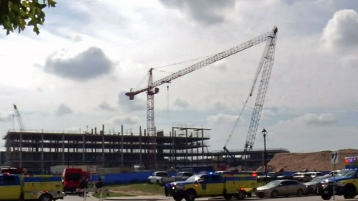 Authorities in the Texas capital are reporting multiple injuries following an apparent crane...