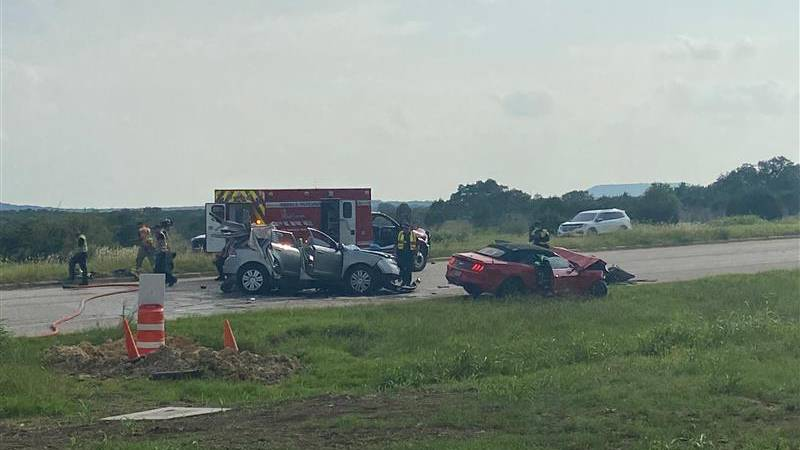 Serious injuries were reported Thursday, August 5, 2021 at the intersection of Clear Creek and...