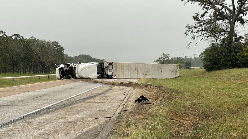 The incident is on I-45 near the town of Leona between Madisonville and Centerville. Motorists...