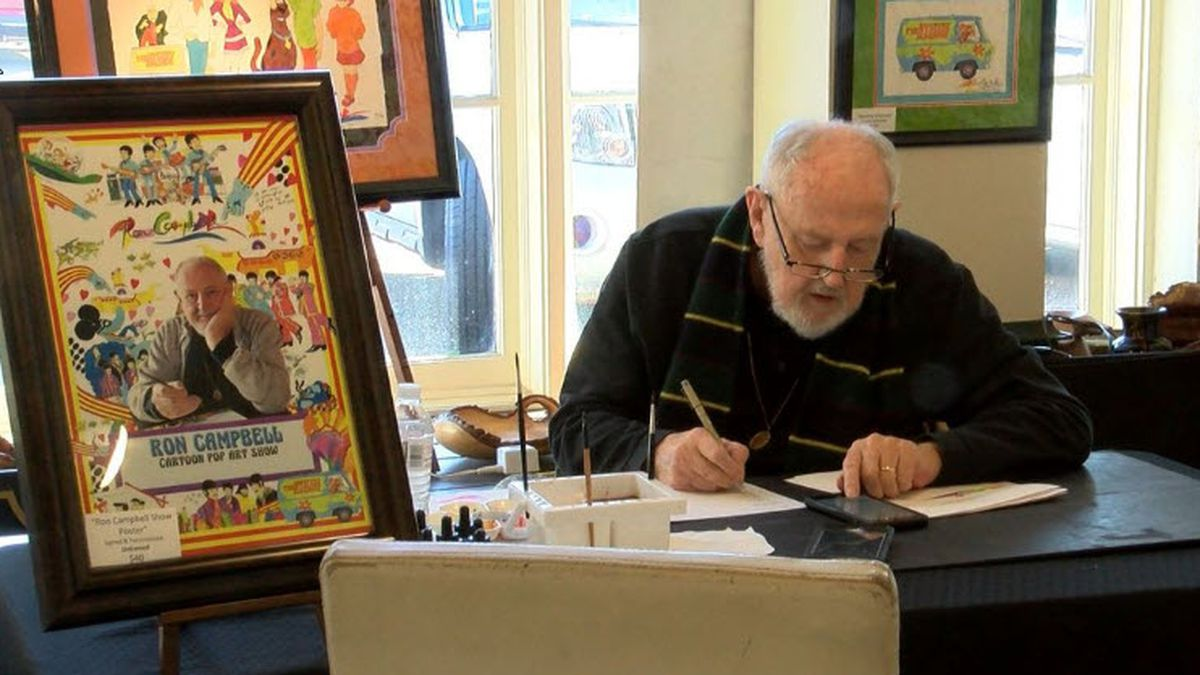 Ron Campbell, Australian artist, animator, cartoonist, author and director, has died. He was 81.