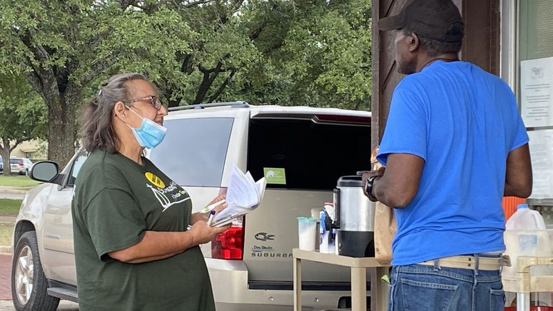 The Temple Homeless Task Force has launched a two-week count of the city's homeless residents.
