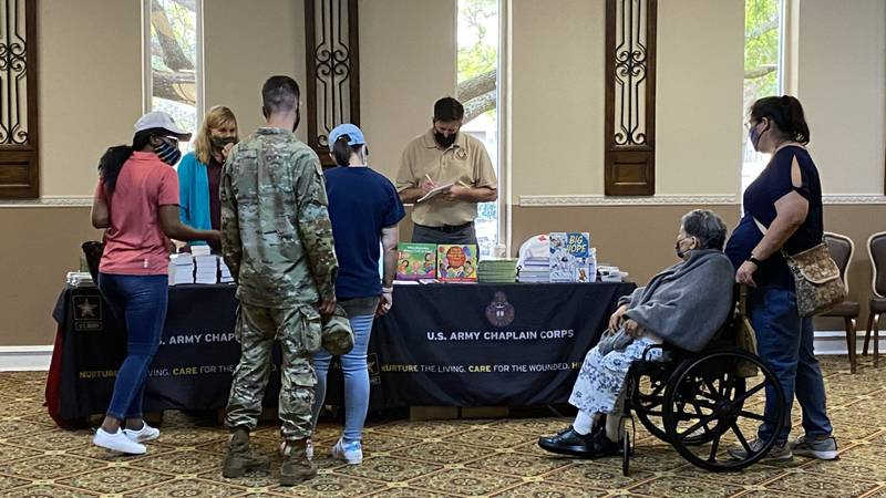 Fort Hood held a welcoming event for new families stationed to the installation Thursday.