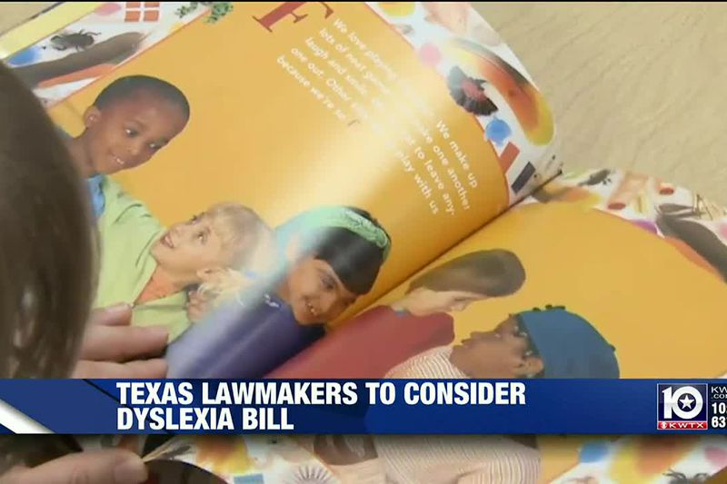 Texas lawmakers consider bill tweaking how schools screen for dyslexia