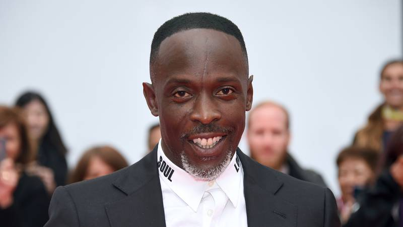 """Michael K. Williams attends a gala for """"The Public"""" on day 4 of the Toronto International Film..."""