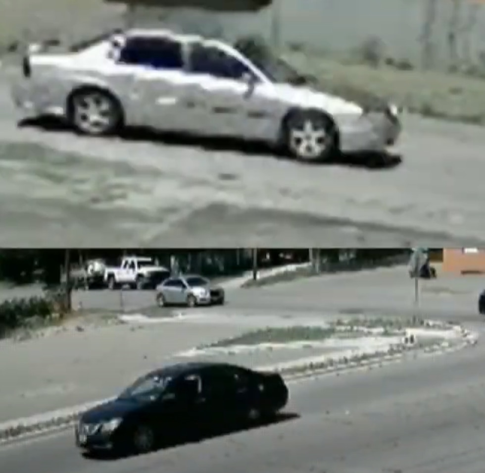 Waco Police released these images to two vehicles possibly linked to the shooting outside...