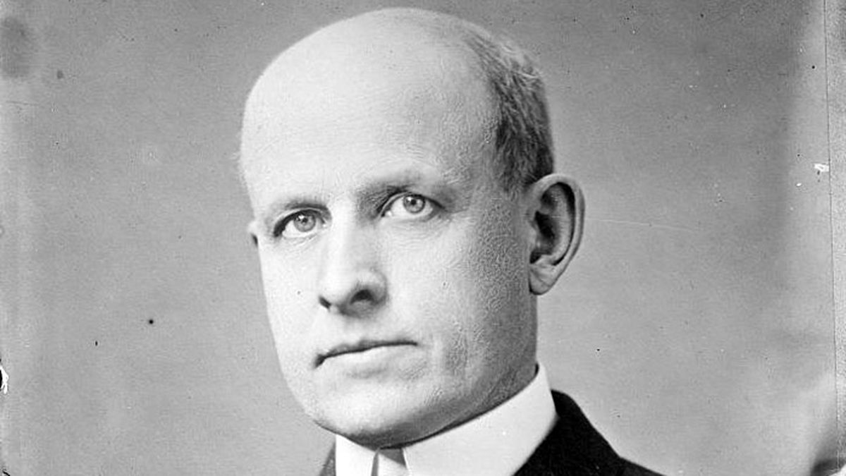 C.W. Post in a photo taken between 1910 and 1915. (Library of Congress/file)