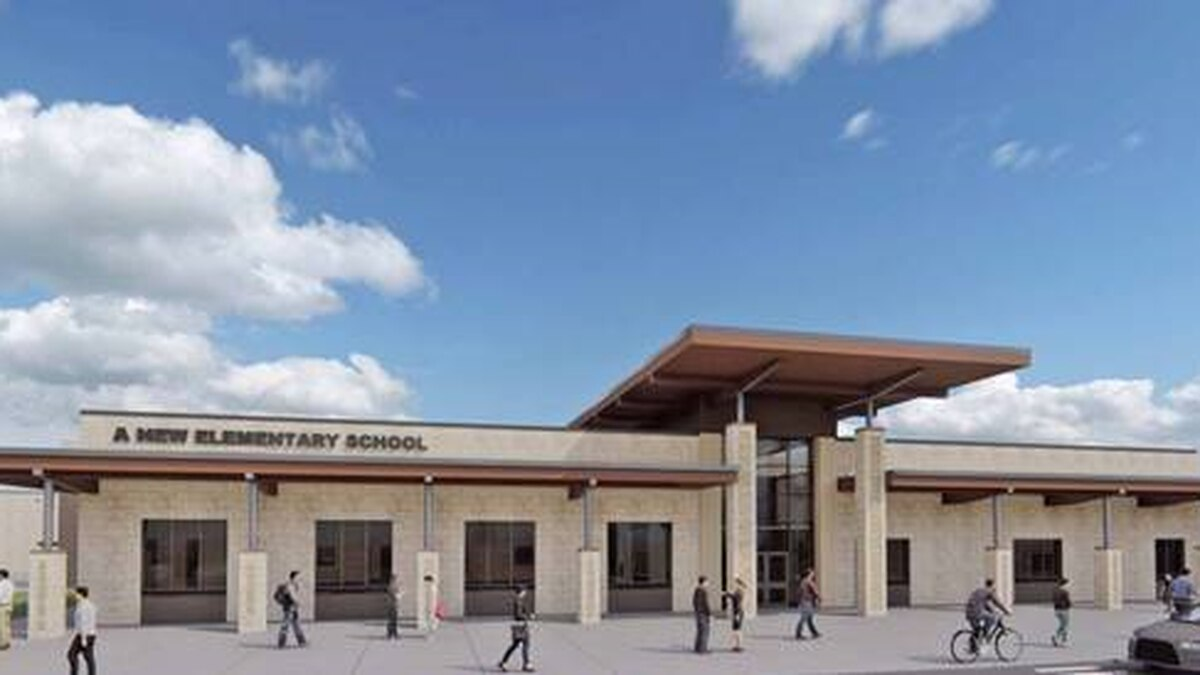 New design for Pershing Park and Clifton Park elementary schools (Courtesy: Killeen ISD)