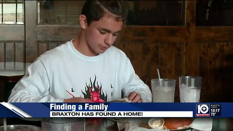 We introduced you to Braxton back in October and recently we got word from CPS that he's...