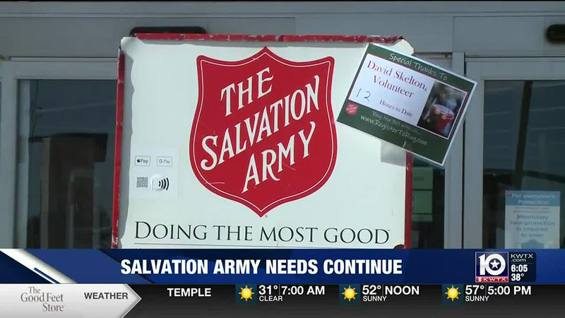 Salvation Army needs continue after holiday season
